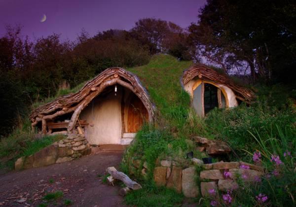 Earth houses la casa degli hobbits costruita in for Costi dell appaltatore per la costruzione di una casa