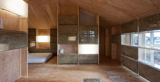 Dal giappone una ricetta per vivere casa di paglia a for Costruire una casa da zero