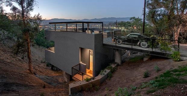 Car park house casa parcheggio o terrazzo - Parcheggio interrato ...