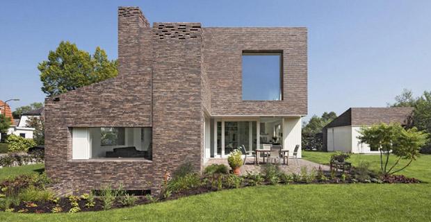 Casa mattoni olanda a for Piani di casa di architettura del sud